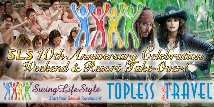 Swinger News - SLS Announces 10th Anniversary Party