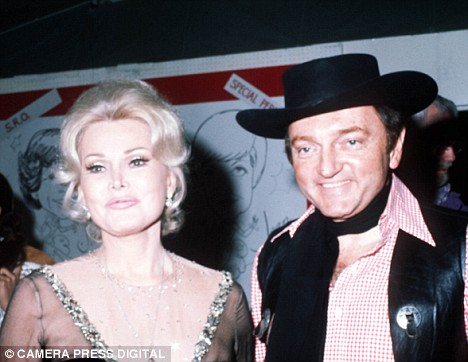 Jack Ryan & Zsa Zsa Gabor hmmm themed party?