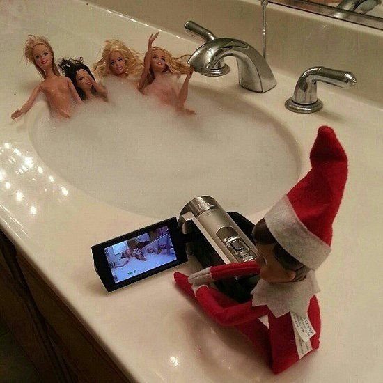 Elf On the Shelf – A Swingers Take