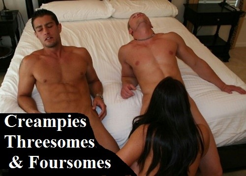 threesome-creampie